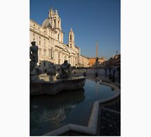 Roman Morning - Shadow and Light on Piazza Navona, Rome, Italy Unisex T-Shirt