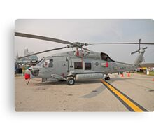 SH-60 Seahawk Helicopter Canvas Print