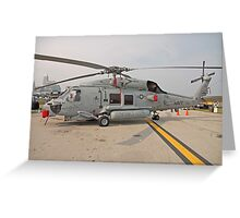 SH-60 Seahawk Helicopter Greeting Card