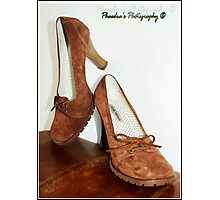Steve Madden Shoes Photographic Print
