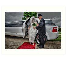 Arrival of the Bride Art Print