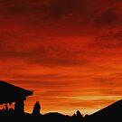 Orange Skyscape by John Brotheridge