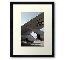 Airplane Wing Framed Print