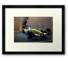 F1  Renault Framed Print