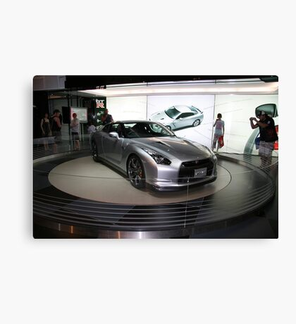nissan sports concept car Canvas Print