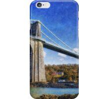 Menai Susupension Bridge iPhone Case/Skin