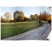 Princess Dianna Memorial Fountain, Hyde Park, London Poster
