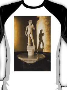 Michelangelo's David and his Shadow T-Shirt