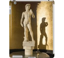 Michelangelo's David and his Shadow iPad Case/Skin