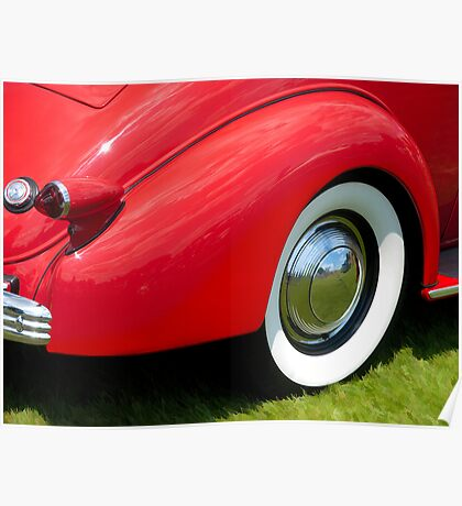 1936 Cadillac V8 Series 60 Business Coupe Poster