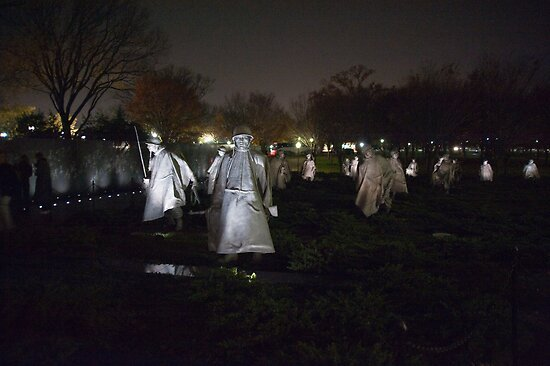 Korean War Memorial by Jim Haley