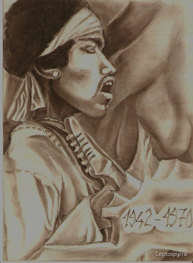 Jimmy Hendrix by Leptospyrra