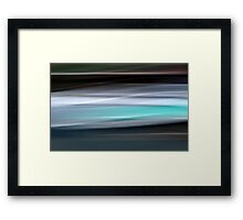 Time in Motion #3 Framed Print