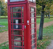 London Red Phone Box by Pat Herlihy