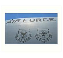 USAF Insignias Art Print