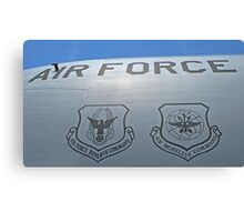USAF Insignias Canvas Print
