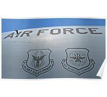 USAF Insignias Poster