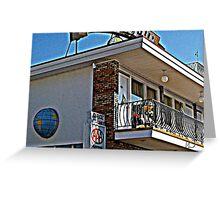 motel 8 Greeting Card