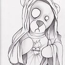 Our ZomBear of Fatima, Re-Dux by chriszenga