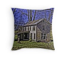 Where we once laid our heads... Throw Pillow