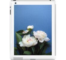 Fresh white peony  flower  iPad Case/Skin