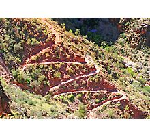 Stairway of the Grand Canyon Photographic Print