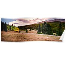 Boreas Pass in Fall HDR Poster