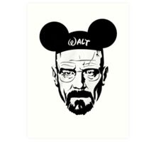 Walter Mouse Art Print