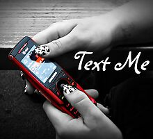 Text Me by Greeting Cards by Tracy DeVore