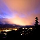 Nightfall over Breckenridge by Josh Dayton