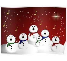 Snowman Choir Poster