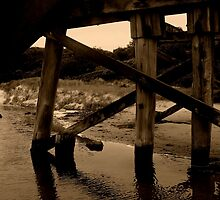The Bridge (Kilcunda bridge collection) by Rochelle  Harding
