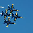 The Blue Angels by Ernie Lopez
