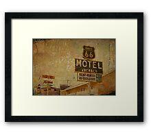 Vintage & Vacancy Framed Print