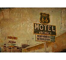 Vintage & Vacancy Photographic Print