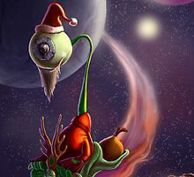 Xmas on Uranus by trickmonkey