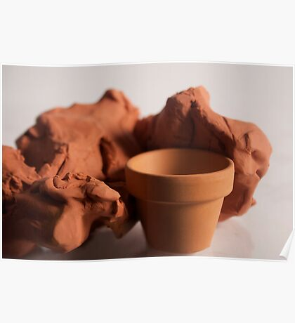Clay : Pottery Poster