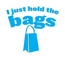 I just hold the bags (with matching I do the shopping) by jazzydevil