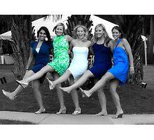 Wedding party Photographic Print