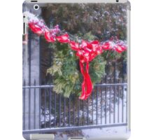 I'll Be Home For Christmas iPad Case/Skin
