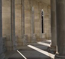 Amphitheater at The Tomb of the Unknown Soldier at Arlington National Cemetary by mnkreations
