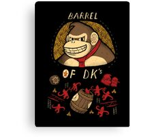 barrel of DKs Canvas Print