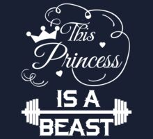 This Princess Is A Beast Tank Shirt by wordsonashirt