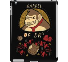 barrel of DKs iPad Case/Skin