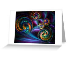Taffy Swirls Greeting Card