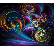 Taffy Swirls Photographic Print