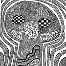 Mushroom Brain Monster by Brian Scolnick
