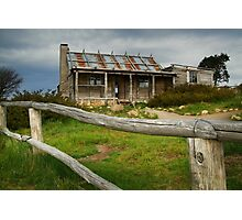 Craigs Hut  Photographic Print