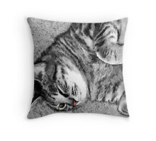 A Portrait of Molly Throw Pillow