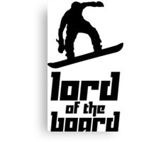 Lord of the Board 2 Canvas Print